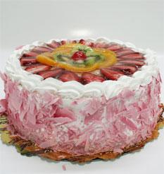 görsel pastacilar 4 ile 6 kisilik yas pasta karisik meyvali  Tunceli çiçek siparişi vermek