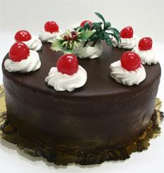 4 ile 6 kisilik yas pasta çikolatali taze pastaci  Tunceli çiçekçiler
