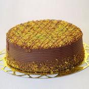 sanatsal pastaci 4 ile 6 kisilik krokan çikolatali yas pasta  Tunceli hediye çiçek yolla