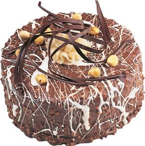 pasta satisi 4 ile 6 kisilik çikolatali yas pasta  Tunceli çiçek online çiçek siparişi