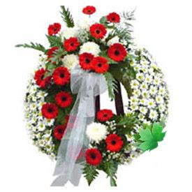 Cenaze çelengi cenaze çiçek modeli  Tunceli çiçek siparişi sitesi