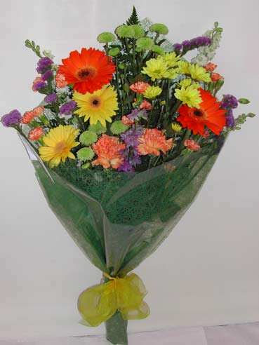 karisik kir çiçek buketi çiçek gönderimi  Tunceli çiçekçi mağazası