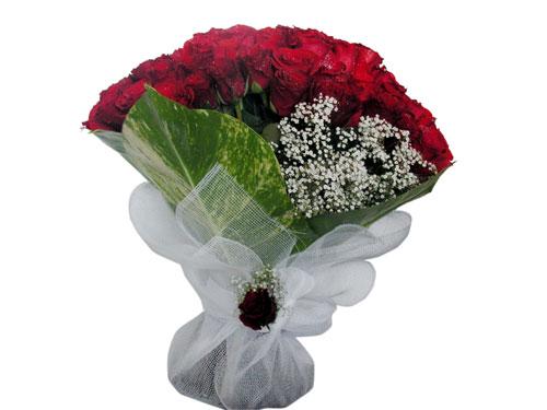 25 adet kirmizi gül görsel çiçek modeli  Tunceli online çiçek gönderme sipariş
