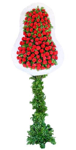 Dügün nikah açilis çiçekleri sepet modeli  Tunceli çiçek online çiçek siparişi