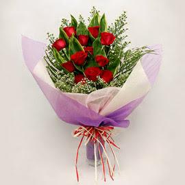 çiçekçi dükkanindan 11 adet gül buket  Tunceli çiçek gönderme sitemiz güvenlidir