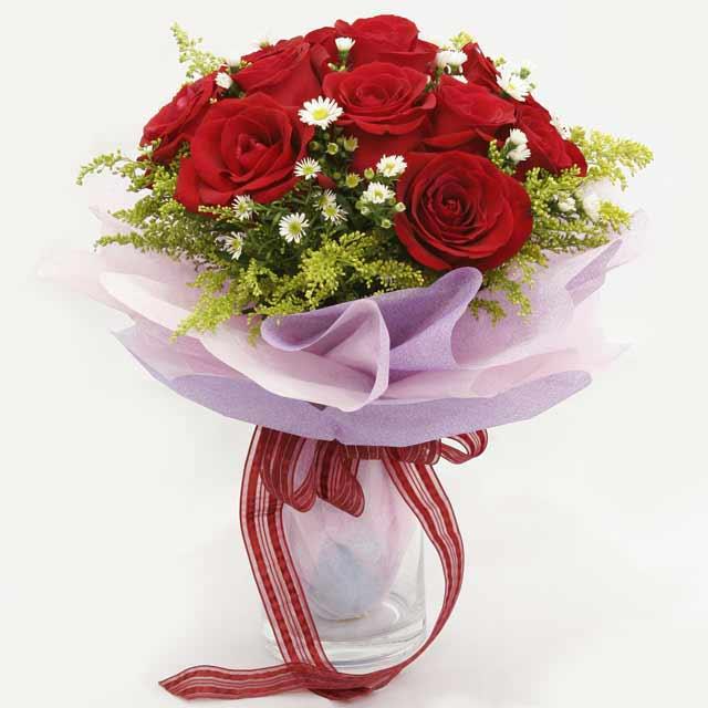 Çiçek gönderme estetikliginiz 11 gül buket  Tunceli çiçek gönderme sitemiz güvenlidir