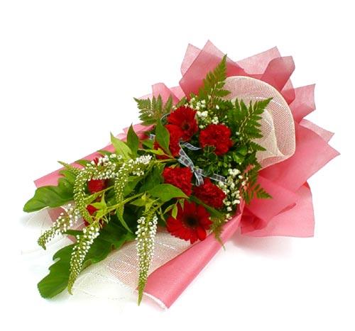 Karisik çiçek buketi mevsim buket  Tunceli çiçek yolla