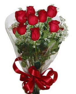 Çiçek sade gül buketi 7 güllü buket  Tunceli ucuz çiçek gönder