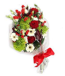 Karisik mevsim buketi çiçek tanzimi  Tunceli çiçek satışı