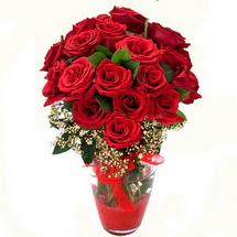 Tunceli çiçek yolla   9 adet kirmizi gül