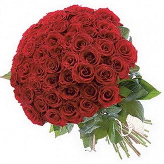 Tunceli uluslararası çiçek gönderme  101 adet kırmızı gül buketi modeli