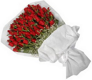 Tunceli çiçek online çiçek siparişi  51 adet kırmızı gül buket çiçeği