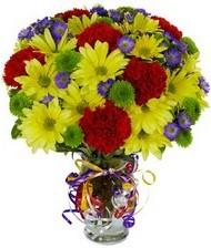 En güzel hediye karışık mevsim çiçeği  Tunceli İnternetten çiçek siparişi