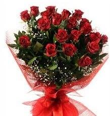 İlginç Hediye 21 Adet kırmızı gül  Tunceli çiçek satışı