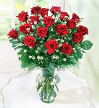 Tunceli çiçek gönderme  9 adet mika yada vazoda kirmizi güller