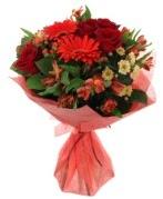 karışık mevsim buketi  Tunceli çiçek satışı