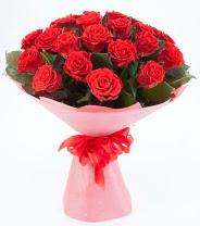 12 adet kırmızı gül buketi  Tunceli çiçek yolla