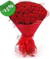 51 adet kırmızı gül buketi özel hissedenlere  Tunceli çiçek yolla