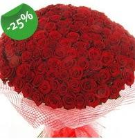 151 adet sevdiğime özel kırmızı gül buketi  Tunceli çiçek yolla
