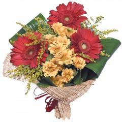 karışık mevsim buketi  Tunceli çiçek gönderme sitemiz güvenlidir
