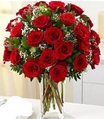 Vazo içerisinde 33 adet kırmızı gül  Tunceli hediye çiçek yolla