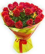19 Adet kırmızı gül buketi  Tunceli çiçek , çiçekçi , çiçekçilik