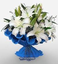 4 dal kazablanka çiçeğinden buket  Tunceli hediye çiçek yolla