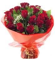 12 adet görsel bir buket tanzimi  Tunceli çiçek , çiçekçi , çiçekçilik
