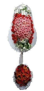 çift katlı düğün açılış sepeti  Tunceli çiçek gönderme