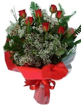 7 kırmızı gül buketi  Tunceli online çiçek gönderme sipariş