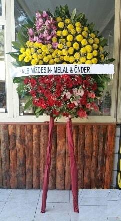 Tunceli çiçekçiler  Cenaze çiçek modeli
