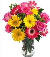 Vazoda Karışık mevsim çiçeği  Tunceli çiçek gönderme sitemiz güvenlidir