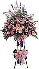 Tunceli uluslararası çiçek gönderme   Ferforje Pembe kazablanka