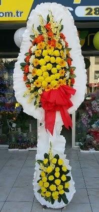 Çift katlı düğün nikah açılış çiçeği  Tunceli uluslararası çiçek gönderme