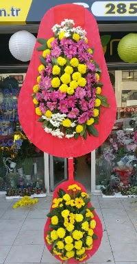 Çift katlı düğün nikah açılış çiçek modeli  Tunceli ucuz çiçek gönder