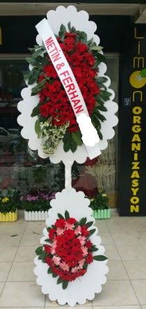 Çift katlı düğün nikah çiçeği modeli  Tunceli çiçek yolla