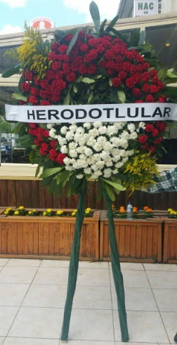 Cenaze çelengi cenazeye çiçek modeli  Tunceli yurtiçi ve yurtdışı çiçek siparişi