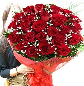 Kız isteme çiçeği buketi 33 adet kırmızı gül  Tunceli çiçek servisi , çiçekçi adresleri
