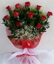 11 adet kırmızı gülden görsel çiçek  Tunceli yurtiçi ve yurtdışı çiçek siparişi