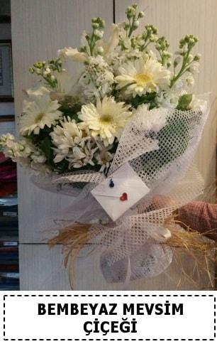 Bembeyaz görsel mevsim çiçek buketi  Tunceli çiçek mağazası , çiçekçi adresleri