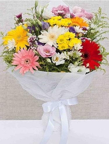 Karışık Mevsim Buketleri  Tunceli çiçek yolla , çiçek gönder , çiçekçi