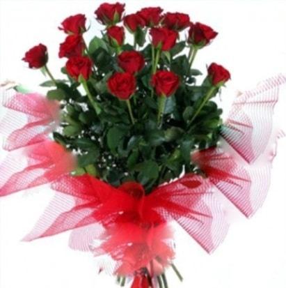 15 adet kırmızı gül buketi  Tunceli hediye çiçek yolla