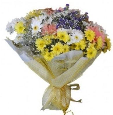 Karışık mevsim çiçeği  Tunceli yurtiçi ve yurtdışı çiçek siparişi