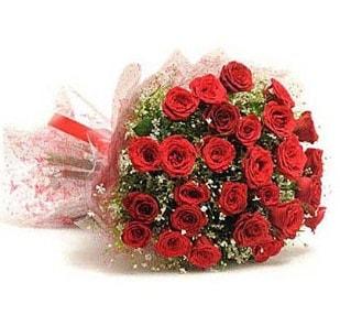 27 Adet kırmızı gül buketi  Tunceli çiçek yolla , çiçek gönder , çiçekçi