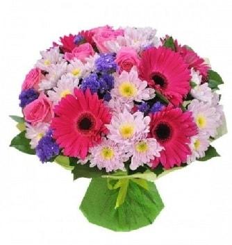 Karışık mevsim buketi mevsimsel buket  Tunceli yurtiçi ve yurtdışı çiçek siparişi