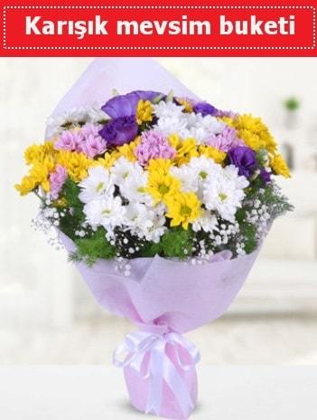 Karışık Kır Çiçeği Buketi  Tunceli uluslararası çiçek gönderme