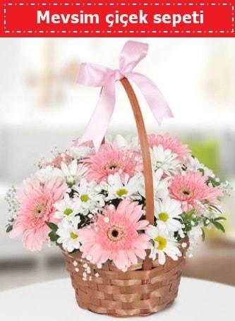Mevsim kır çiçek sepeti  Tunceli online çiçekçi , çiçek siparişi